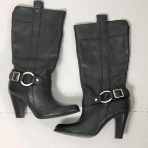 Gianni Bini Leather Boots  size 6 1/2